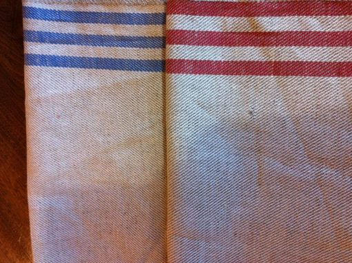 Tea Towels Stone Washed
